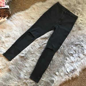 Forever 21 Black Super Skinny Jeans